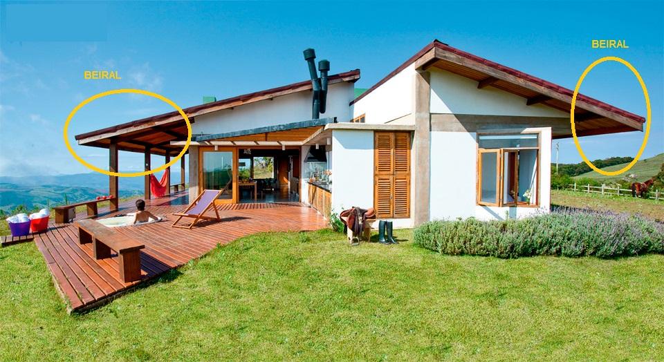 Telhado embutido ou aparente maria decorando for Fotos de casas modernas com telhado aparente